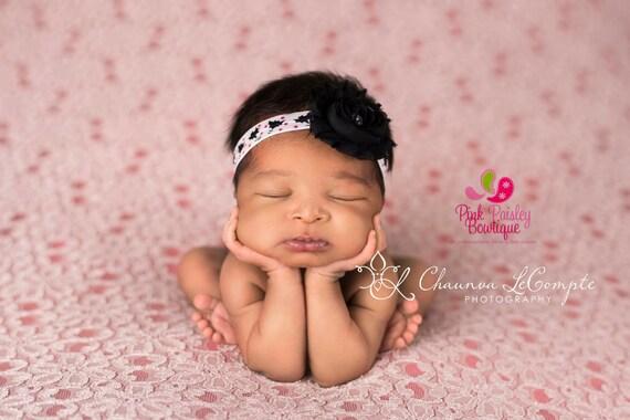 Halloween Headband - CLEARANCE Baby Headband-  Infant headband - Newborn Headband - baby hair accessories - Baby Hairbows - Halloween