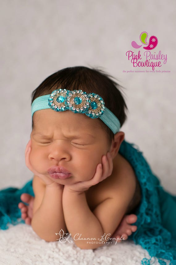 Baby Headbands - You pick 1 Desi Headband - Infant Baby Headband - Baby Girl Headbands - Baby Hair Accessories - Baby Hairbows - Baby Bows