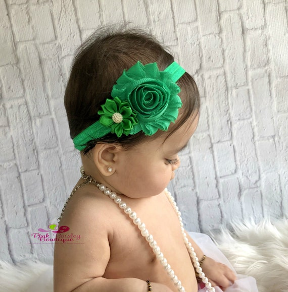 Spring Bows - Christmas  headband Newborn Headbands - Baby Headband - Baby Hairbow - 16 Color Options Toddler Headband - headband baby