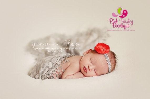 CLEARANCE Baby Headband- - Baby Bows - Infant headband - Newborn Headband - baby hair accessories - Baby Hair bows - Baby Girl Bows