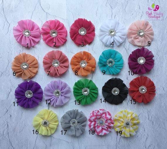 You Pick 2 Baby Hair clip - 19 Color Options - Baby Girl Hair clip - Baby Hairclip-Baby Hair Accessories- Newborn Infant Hairclip.