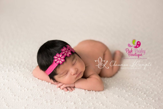 Baby Headband - You pick 1 Flower Headband - Infant Headbands - Baby Girl Headbands - Baby Hair Accessories - Newborn Headbands - Hairbows