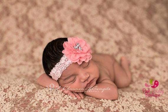 You Pick 1 Baby Headband Set - 6 Color Options - Baby Girl Headbands - Baby Bow Headband-Baby Hair Accessories- Newborn Infant Headband
