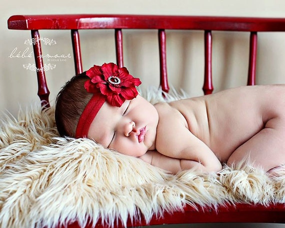 You Pick 1 Infant Headbands. Baby Headbands. Baby girl headbands. Gold baby headbands. Baby hair accessories. Red Baby Hair bows. Flower bow