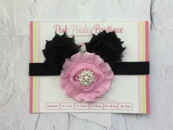 Baby headband - Baby Hair Accessories - Minnie Mouse Headband - Baby Girl Headbands - Newborn headbands - Mickey Birthday Party