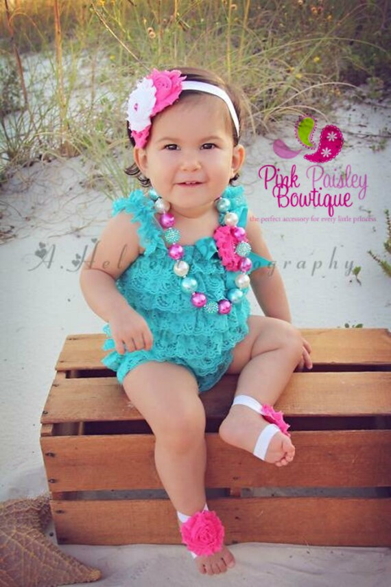 Aqua 1st Birthday, Beach Photos, birthday outfit, Pink & Turquoise Cake Smash Outfit, Baby Girl Birthday Pictures, Baby Girl Birthday Party
