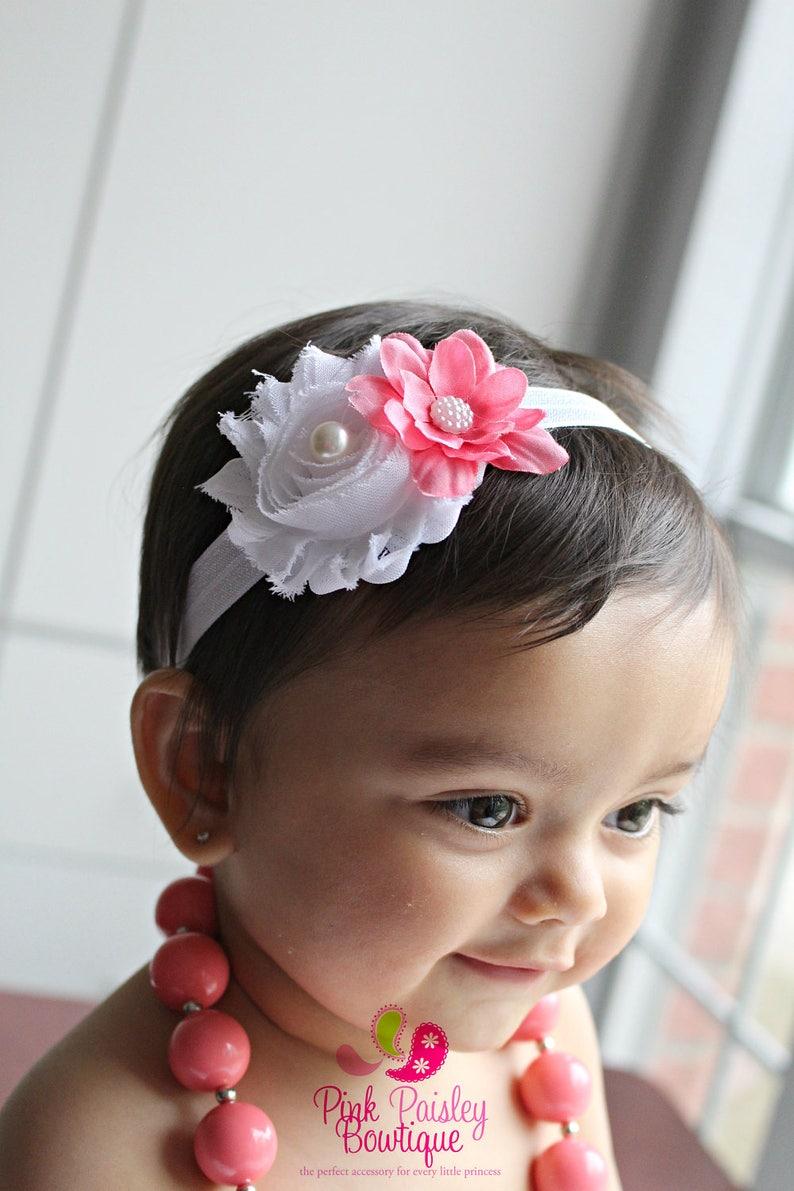 56549aa5872b7 Baby Headband Baby Girl Bows Newborn Headbands Baby Girl | Etsy
