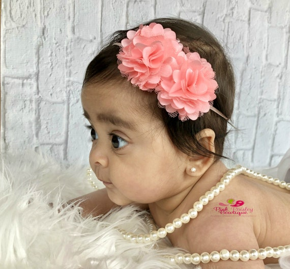 YOU PICK 1 HEADBAND . Infant headband . baby headband. baby girl headbands. newborn headbands. baby hair bows. spring headband