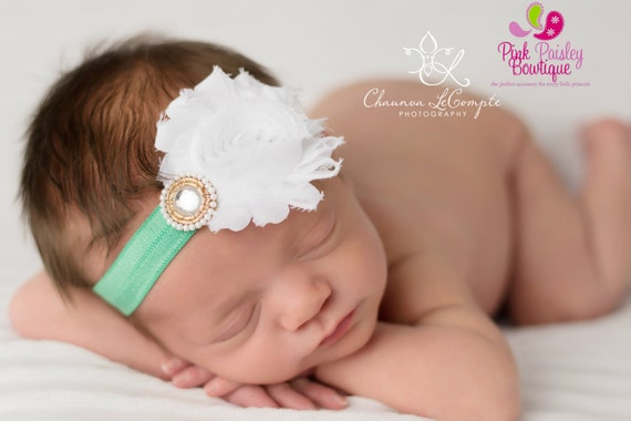 Baby Headband - Infant Headband - Baby Hair bow - Newborn Headband - Toddler Headband - Baby Bow Headband - You pick 1 - Easter Headband