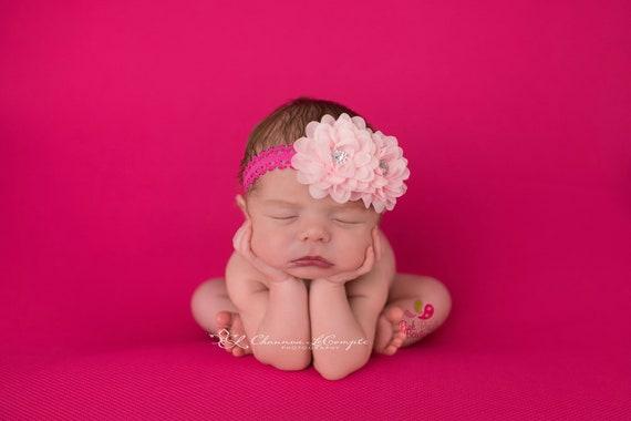 You Pick 1 Baby Headband - 5 Color Options - Baby Girl Headbands - Baby Bow Headband-Baby Hair Accessories- Newborn Infant Headband, Bows