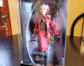 Barbie Ferrari Car Etsy