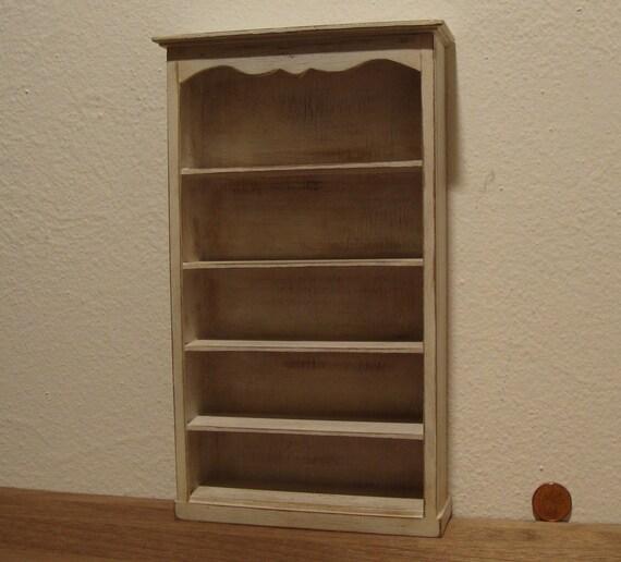 Fatto a mano 1:12th scala in miniatura casa delle bambole legno magazine