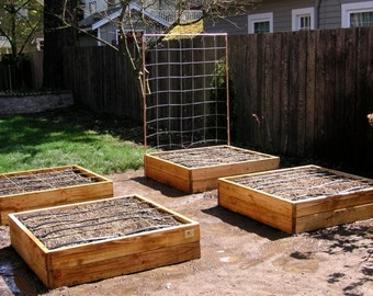 Build Your Own Raised Bed Garden Frame