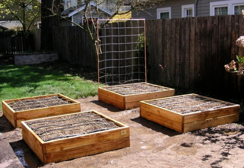 Plan for a Raised Bed Garden Frame image 0