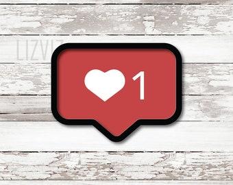 Instagram Love Cookie Cutter