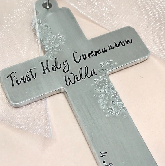 First Communion Gift Ideas Personalized Ornament Religious Gifts For Boys Catholic Boy Girl Gifts Cross Ornament Keepsake Gifts