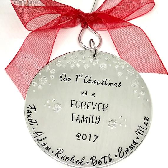 image 0 - Adoption Ornament Forever Family Ornament Family Adoption Etsy
