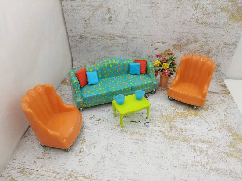 VERMONT ARM CHAIR DOLL HOUSE FURNITURE MINIATURES