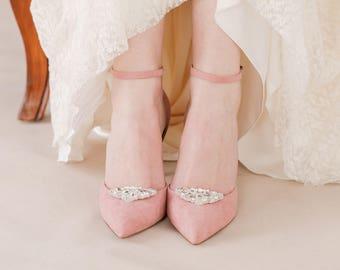 Wedding shoe clips etsy crystal wedding shoe clips deco crystal wedding shoe clips twenties wedding shoe clips junglespirit Choice Image