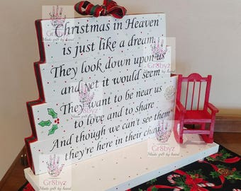 photo about Missing Man Table Poem Printable identified as Vacant chair poem Etsy