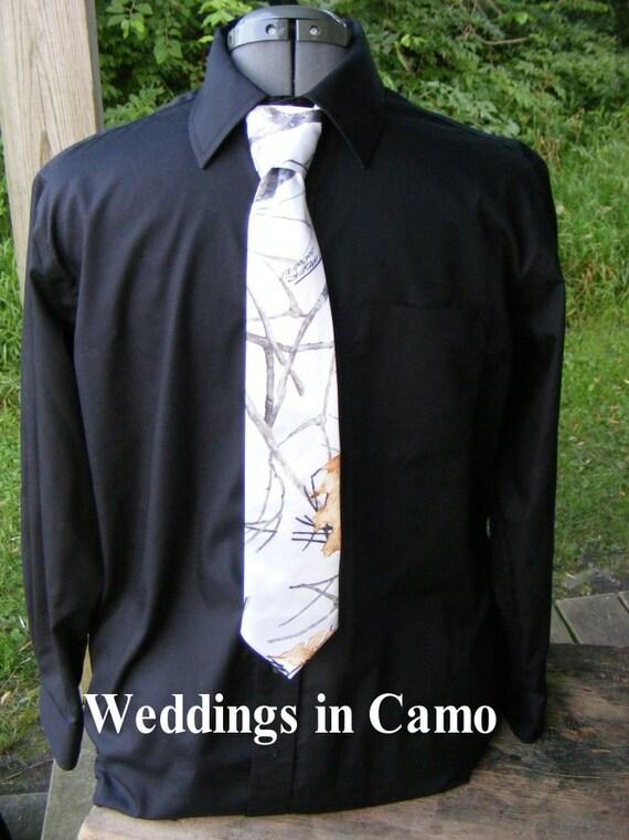 Boys Camo Neck Tie Youth Ties Camo Prom Tie Youth Boys Camo Necktie