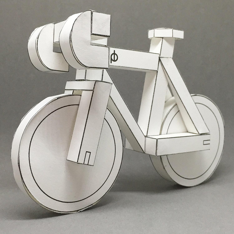 MEGA SALE Paperbikes v2 gedruckte fixed-Gear Bike   Etsy
