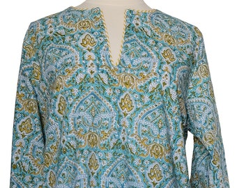 Cotton Pajamas, Paris Paisley