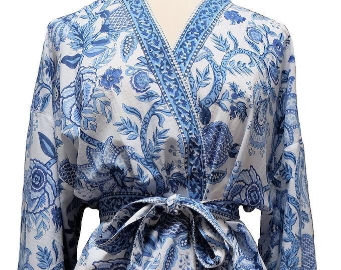 Long Kimono - Palangposh White - free size