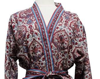 Long Kimono - Turret Paisley - free size