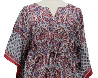 c9d4b6bad Long Kaftan - Paris Paisley - free size