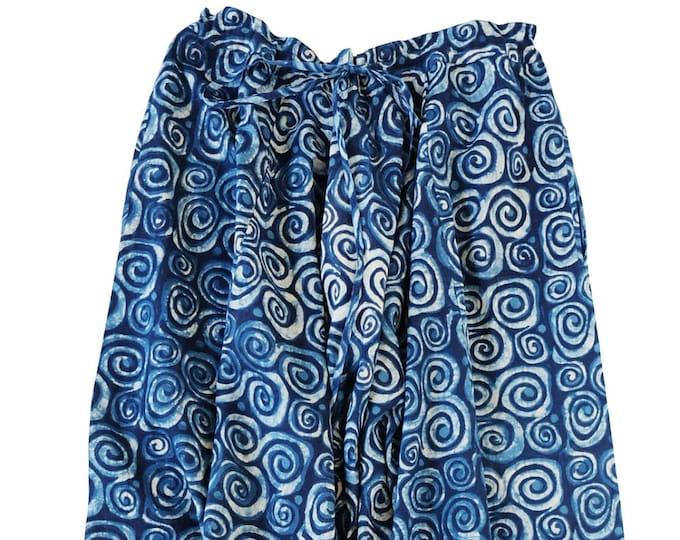 Yogi Trouser - Indigo Swirl Size S/M