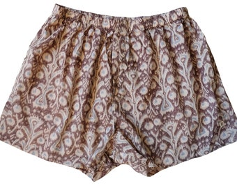 Unisex Cotton Boxers - Ikat