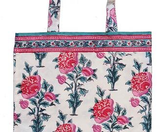 Cotton tote bag - Poppy