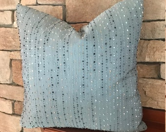"""16"""" 18"""" 20"""" 24"""" Custom Made to Order Pillow Cover with Invisible Zipper using Your Fabric"""