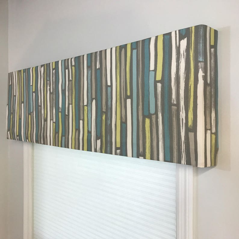 Custom Made to Order Soft Faux Fake Cornice Valance Use Your image 0