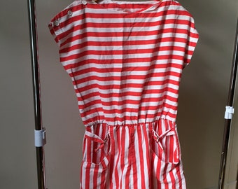 562ef3de45a Vintage Striped Romper !