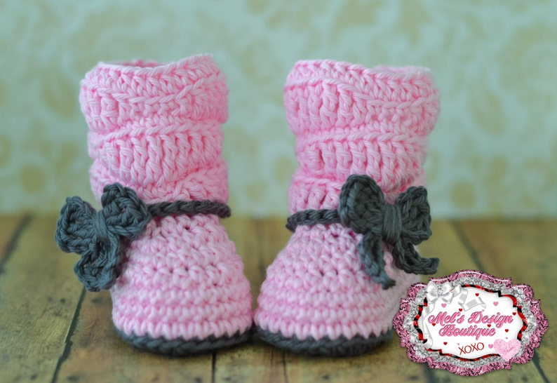 5c31910b51d6b baby boots, baby girl boots, crochet boots, baby shower gift, boots, 0 3  month slouch boots, baby shoes, baby booties, pink