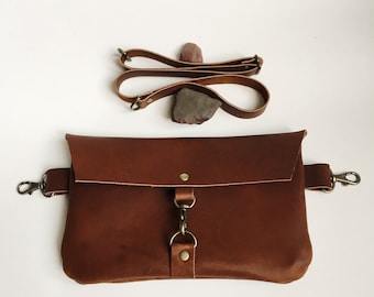 Leather fanny pack 220a84590b690