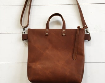 Brown leather crossbody bag 541232e99d3dd
