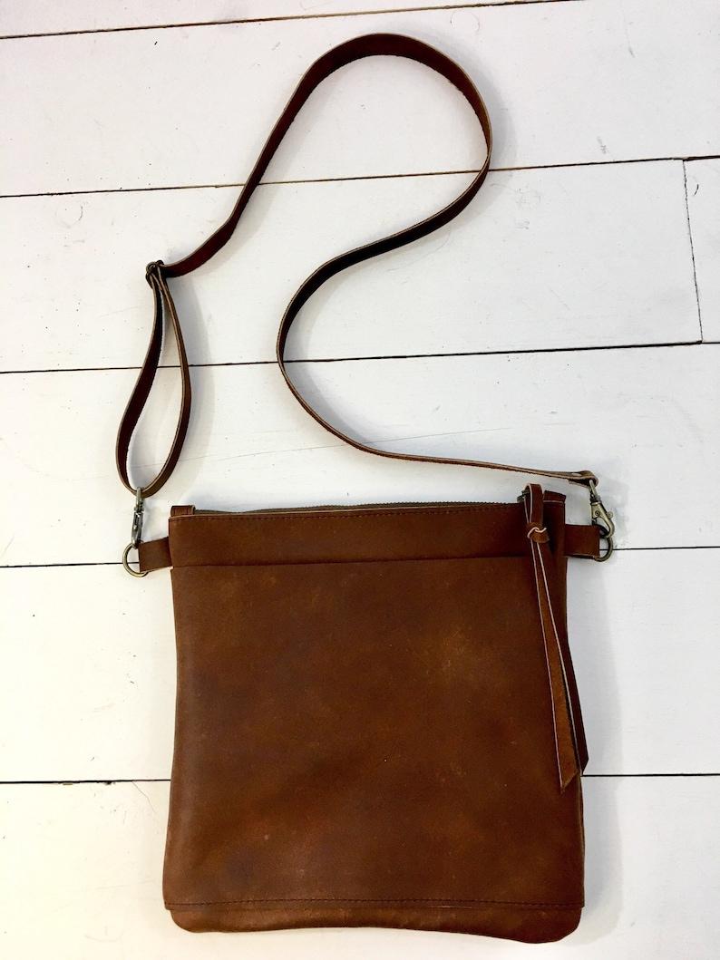 05f8362ca9 Brown leather crossbody bag brown leather purse crossbody