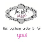 Personalized Piggy Bank Custom Order-Virginia