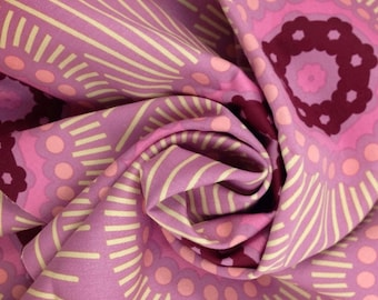 Fabric On Sale, Anna Maria Horner, Innocent Crush, Fabric By The Yard, Home Dec Fabric, Decorator Fabric, Pink Fabric, Clearance Fabric