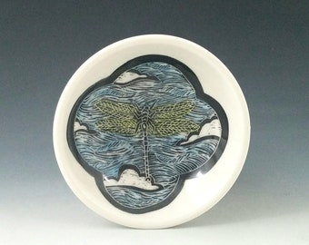 Dragonfly Ring Dish