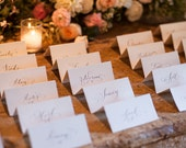 Hand Calligraphy Place Cards