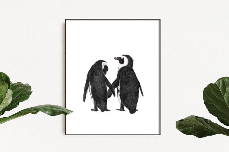 All I Care About sont les pingouins et Peut-être que 4 autres personnes Enfants Sweat à capuche