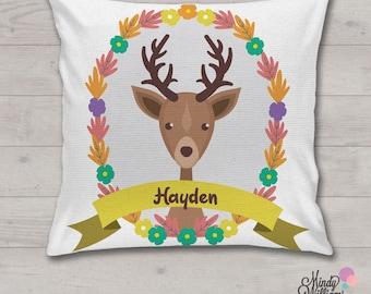 Deer - Personalised Cushion