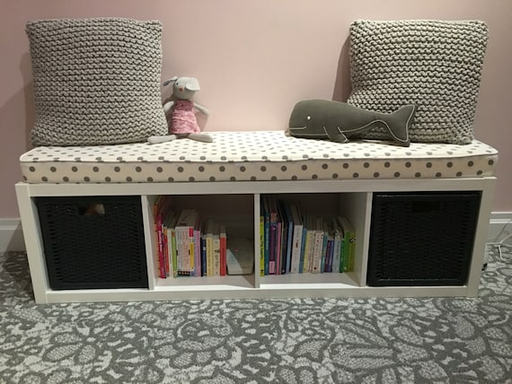 One Custom Replacement Bench Seat Cushion With Cover For Ikea Etsy
