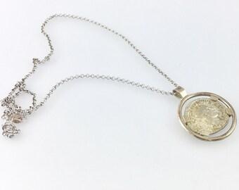 Coin Pendant - Gordian III - Ancient Roman Silver Coin