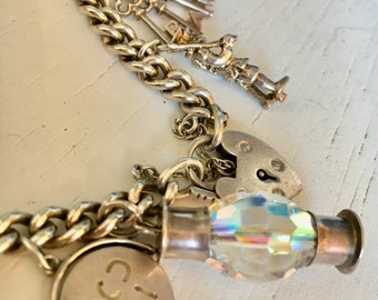 Sterling Silver Charm Bracelet - 1