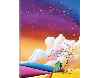 iCanvas Autumn Skies III Gallery Wrapped Canvas Art Print by Cindy Thornton